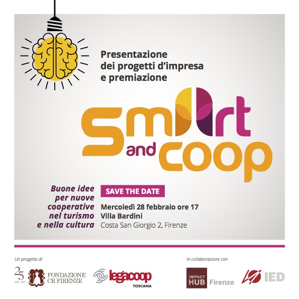 SAVE THE DATE SmArtandcoop